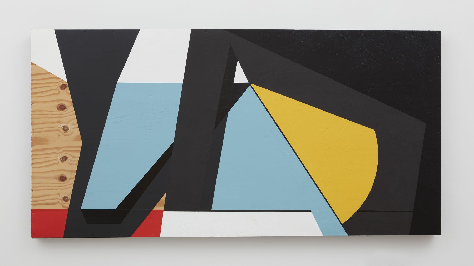 Colour & Form XXVI, 2017, Paint on wood