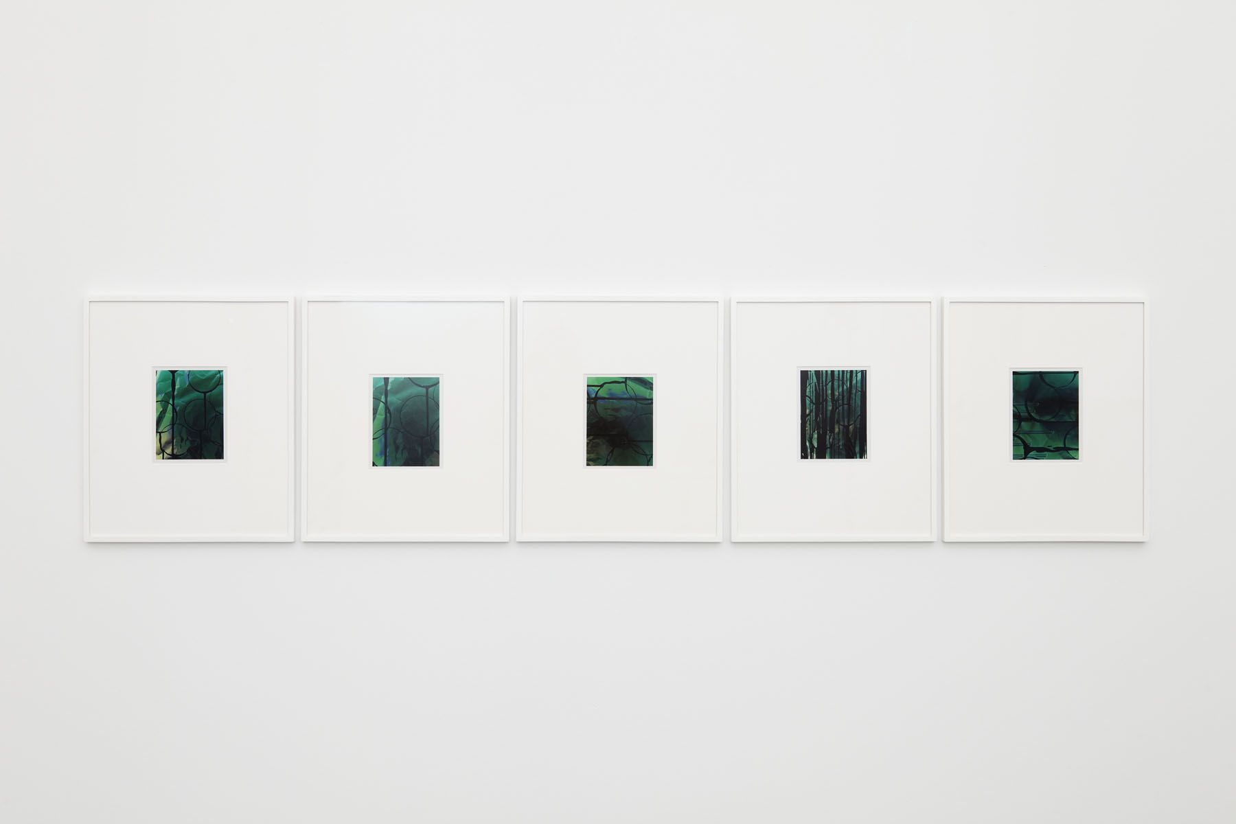 green abstract photograph series by contemporary artist anthony pearson