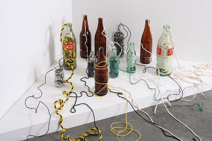 Jiro Takamatsu, Strings in Bottles, 1963