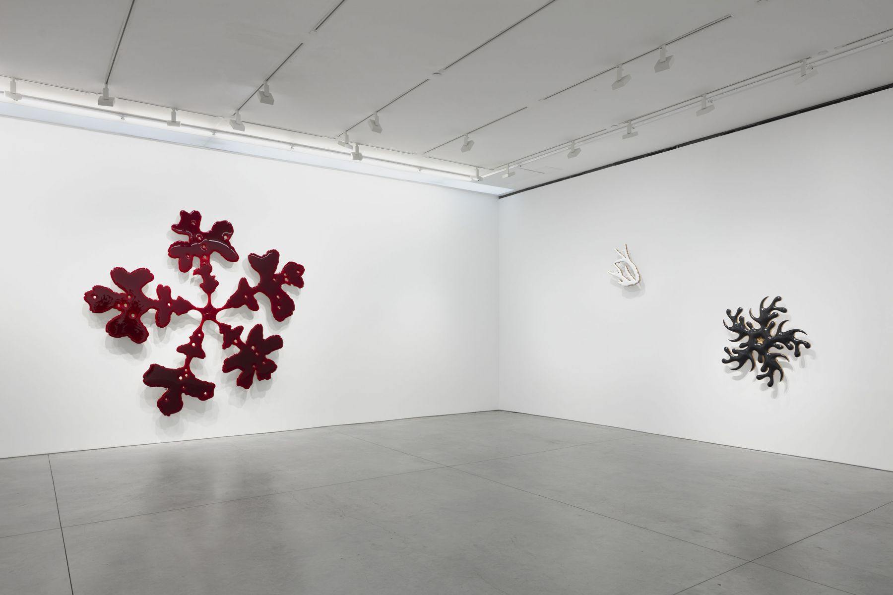 ILL (nature paintings) (Installation View), Marianne Boesky Gallery, 2019