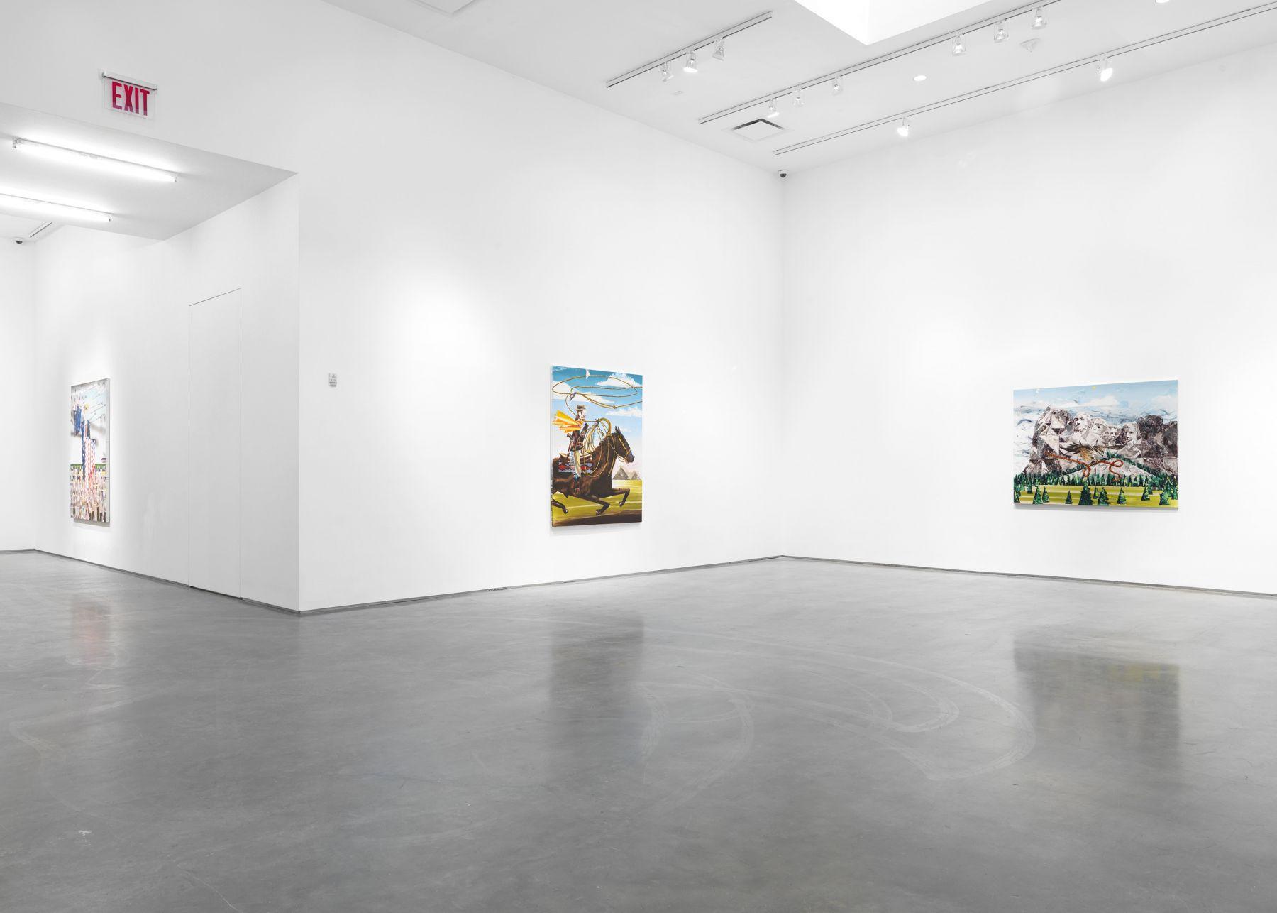 Frontier Ballads (Installation View)