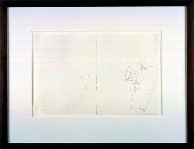 Mr. Gay in the U.S.A. #9, 2001, Graphite on paper