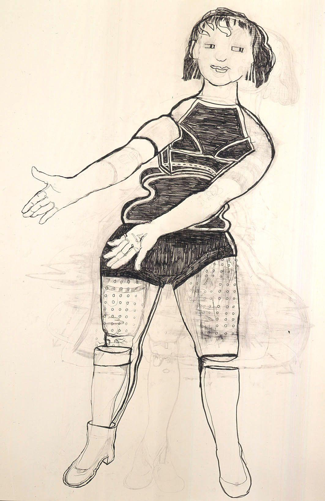 girl gesturing by hannah van bart