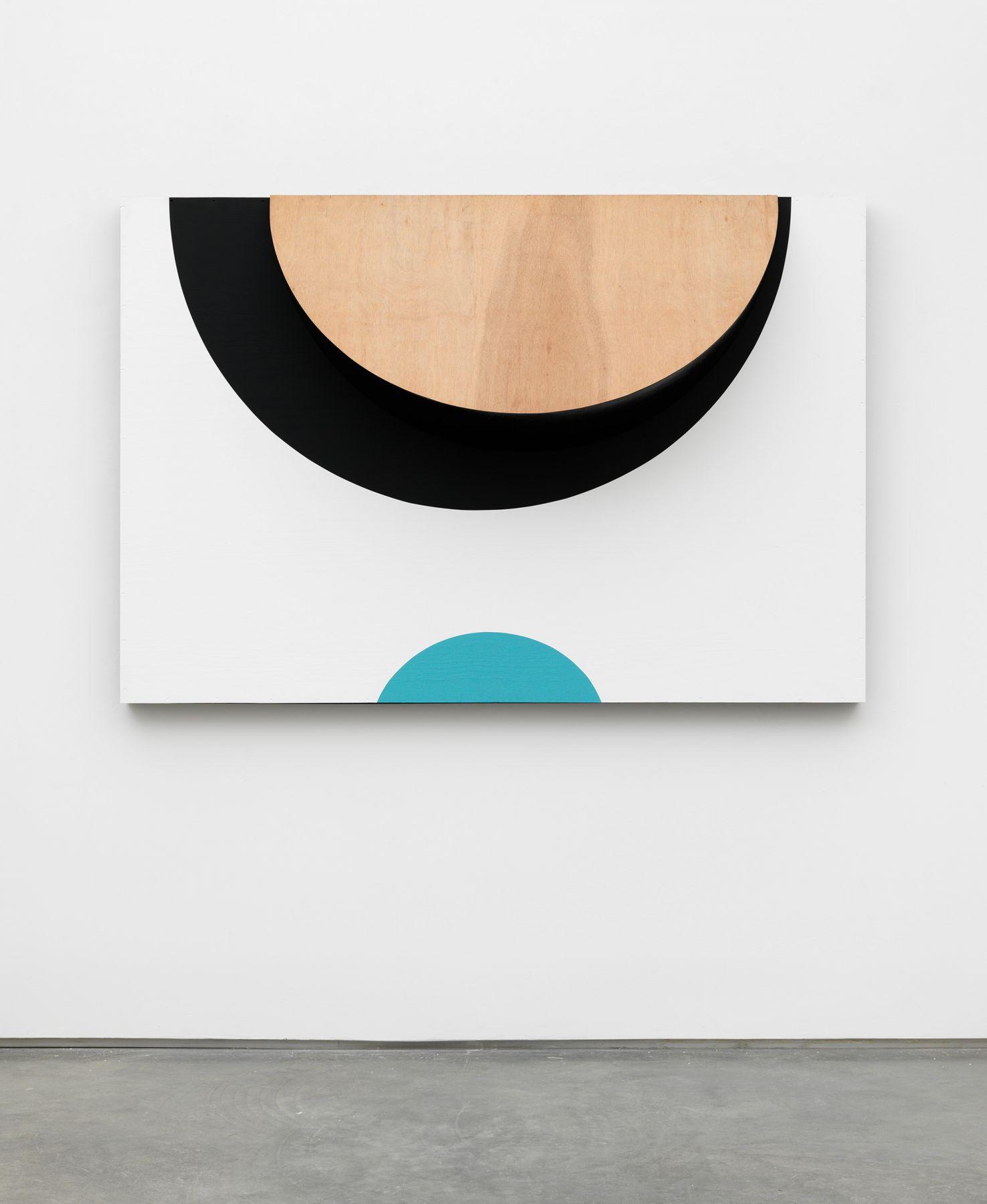 Form Ephemeral IV, 2017, Paint on wood
