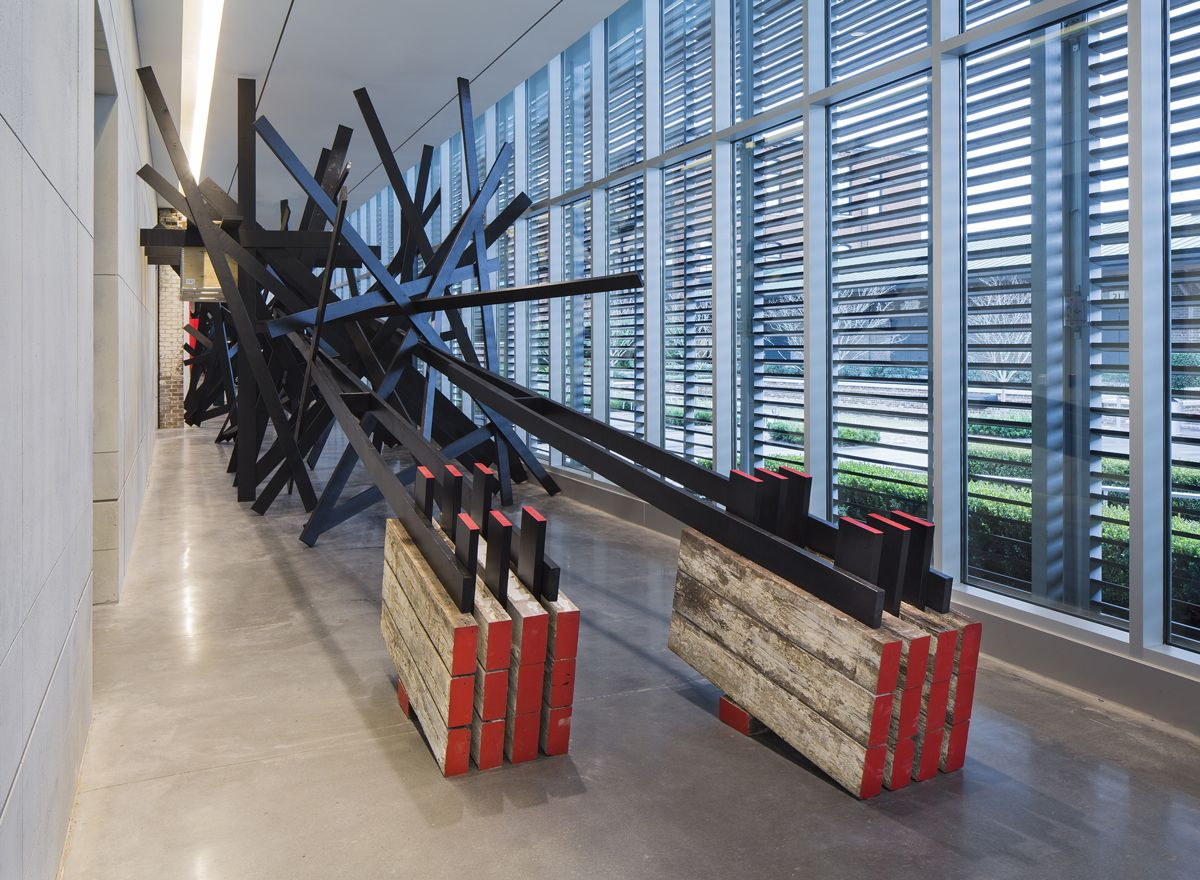 Installation View, Structural-Response II, February 17– June 9, 2015