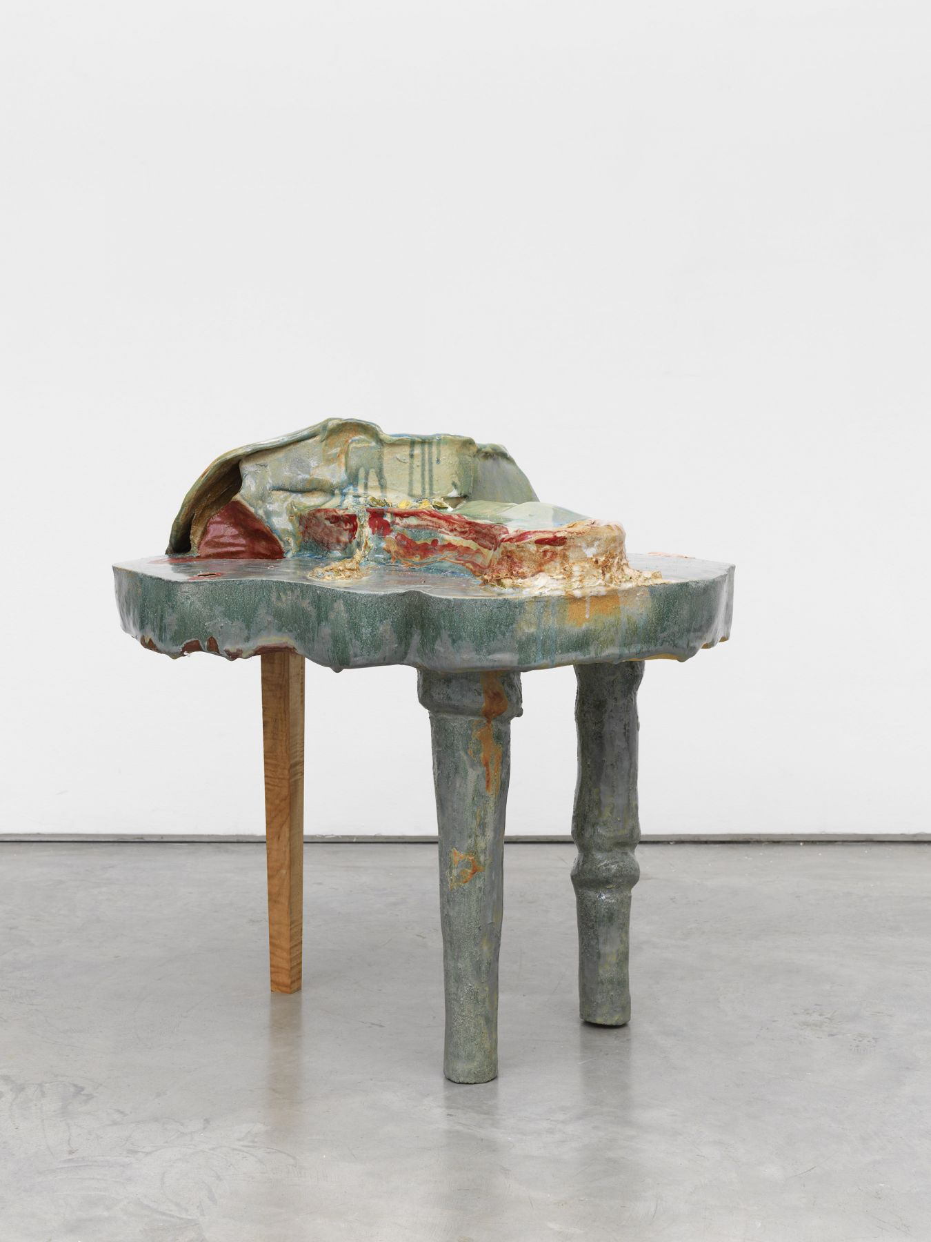 a contemporary ceramic artwork by jessica jackson hutchins for sale at marianne boesky gallery