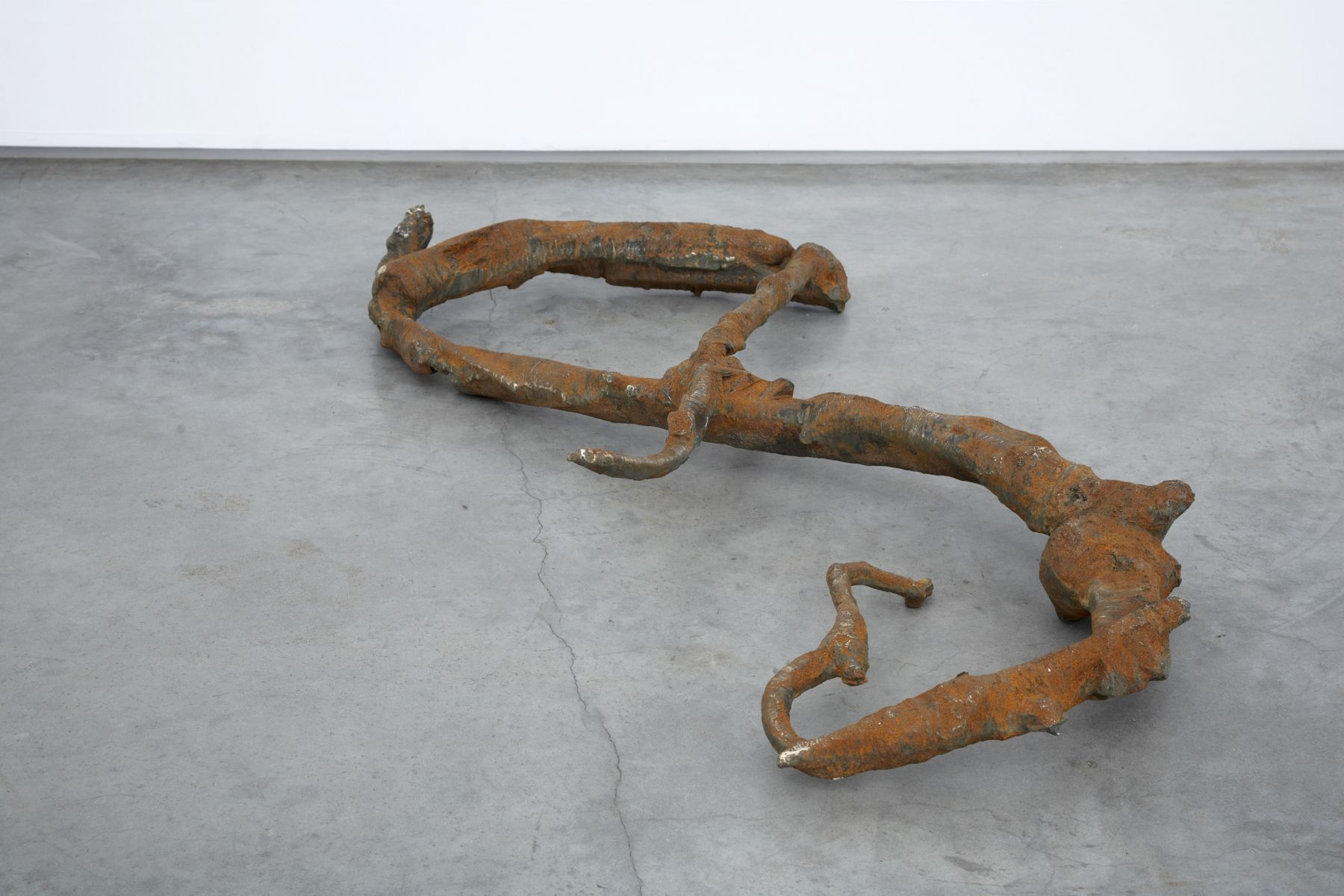 Generational Anxiety, 2008, Bronze, iron and rust