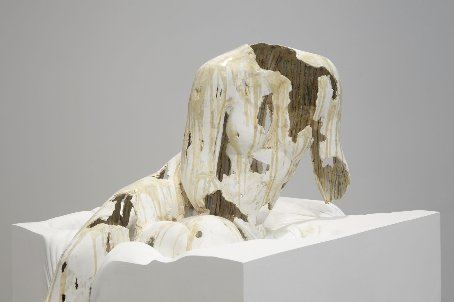 Antonym, 2012, steel, polymer gypsum, fiberglass, wood, foam, paint