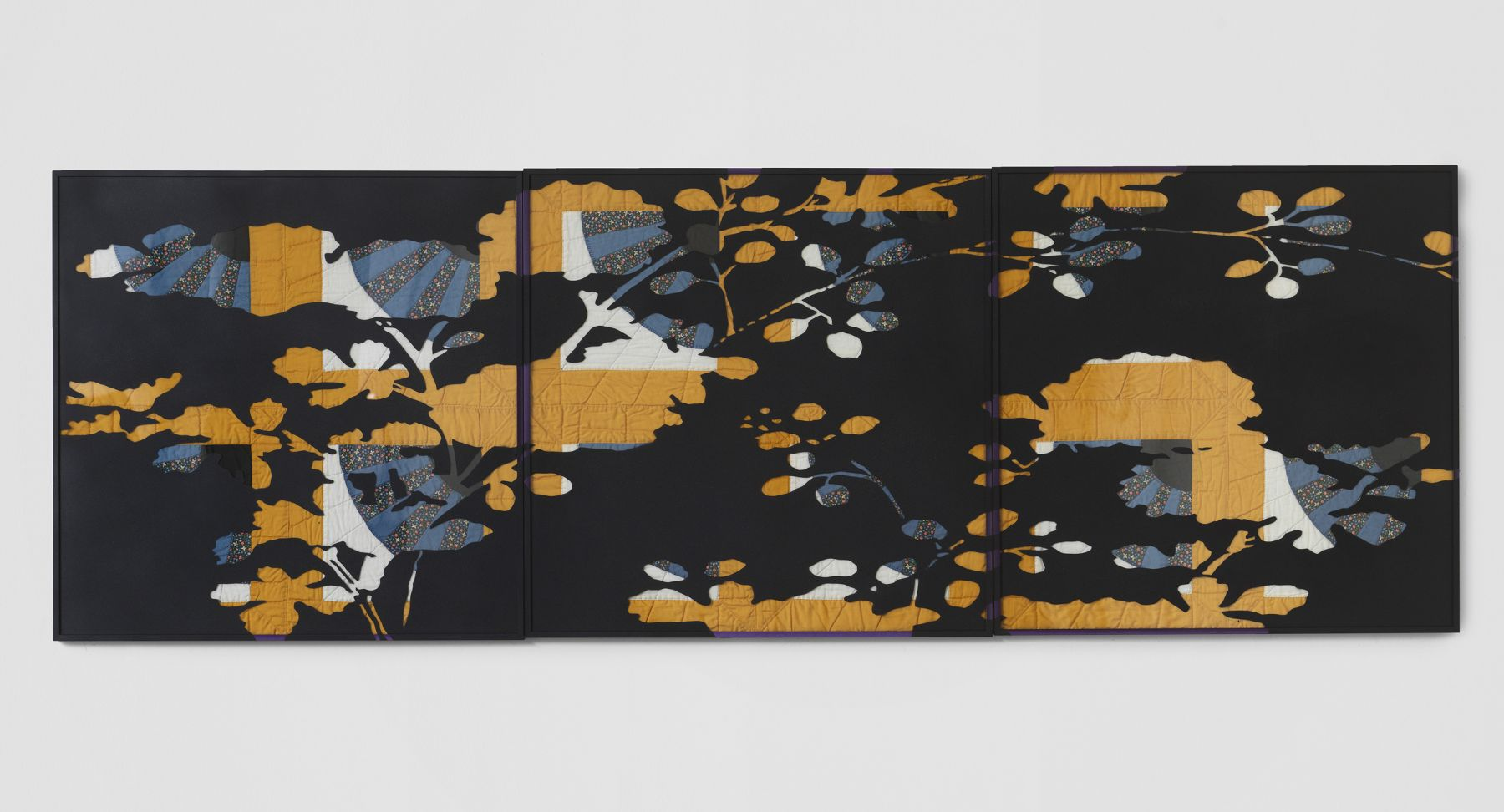 a contemporary work of textile or fiber art by Sanford Biggers