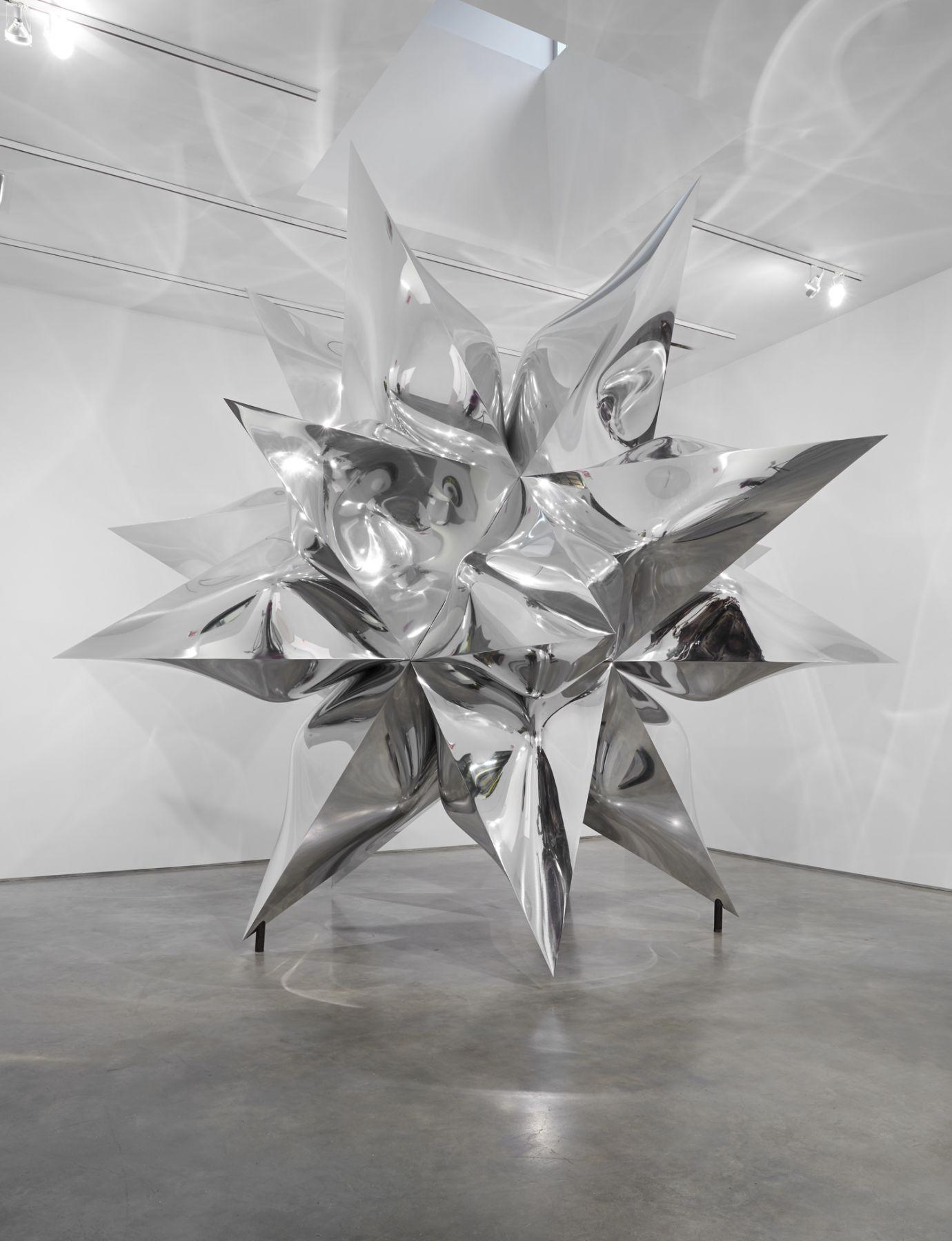 Installation view: Frank Stella Sculpture, November 7 - December 20, 2014