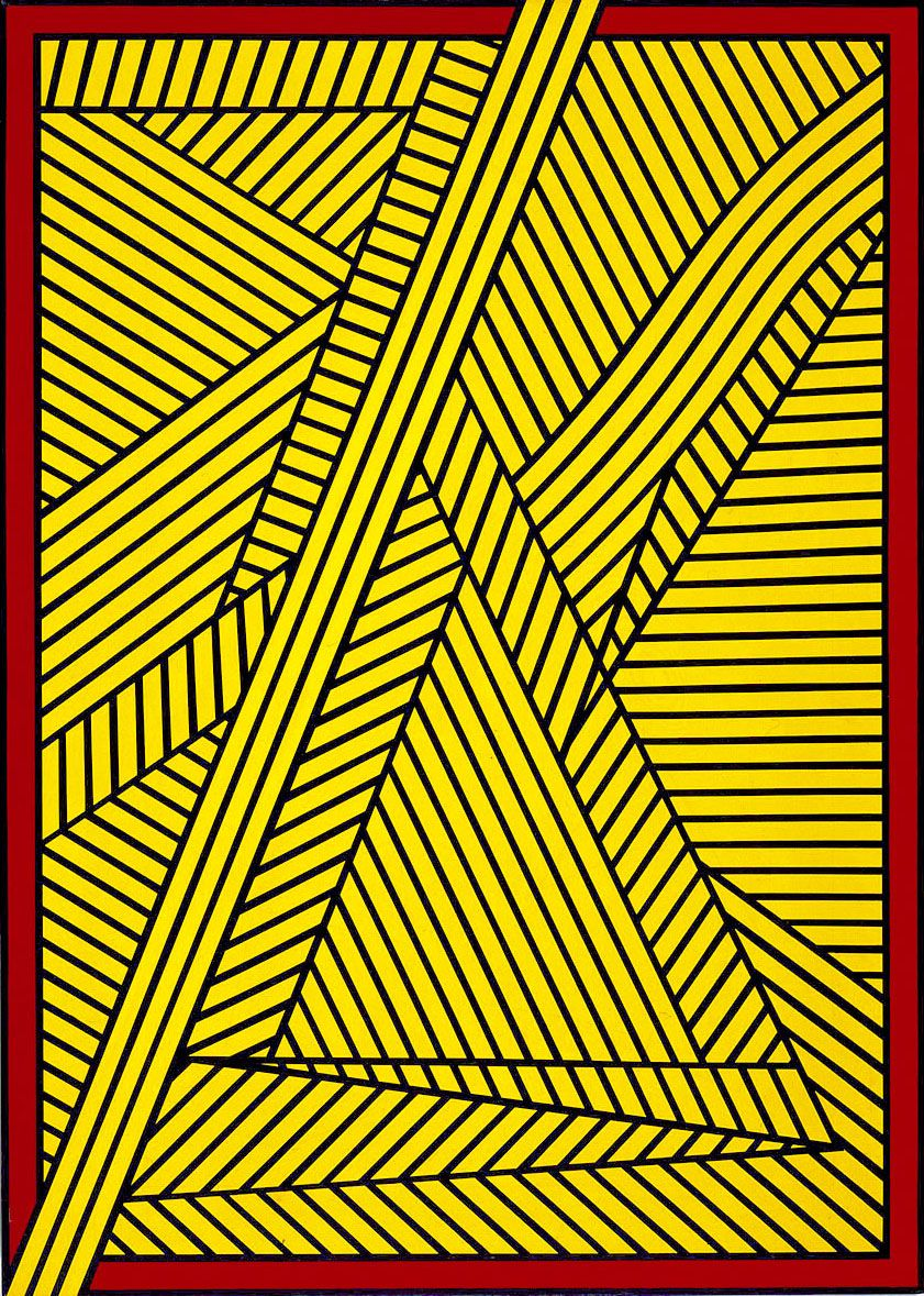 Untitled (Second Look), 1993, Acrylic on linen