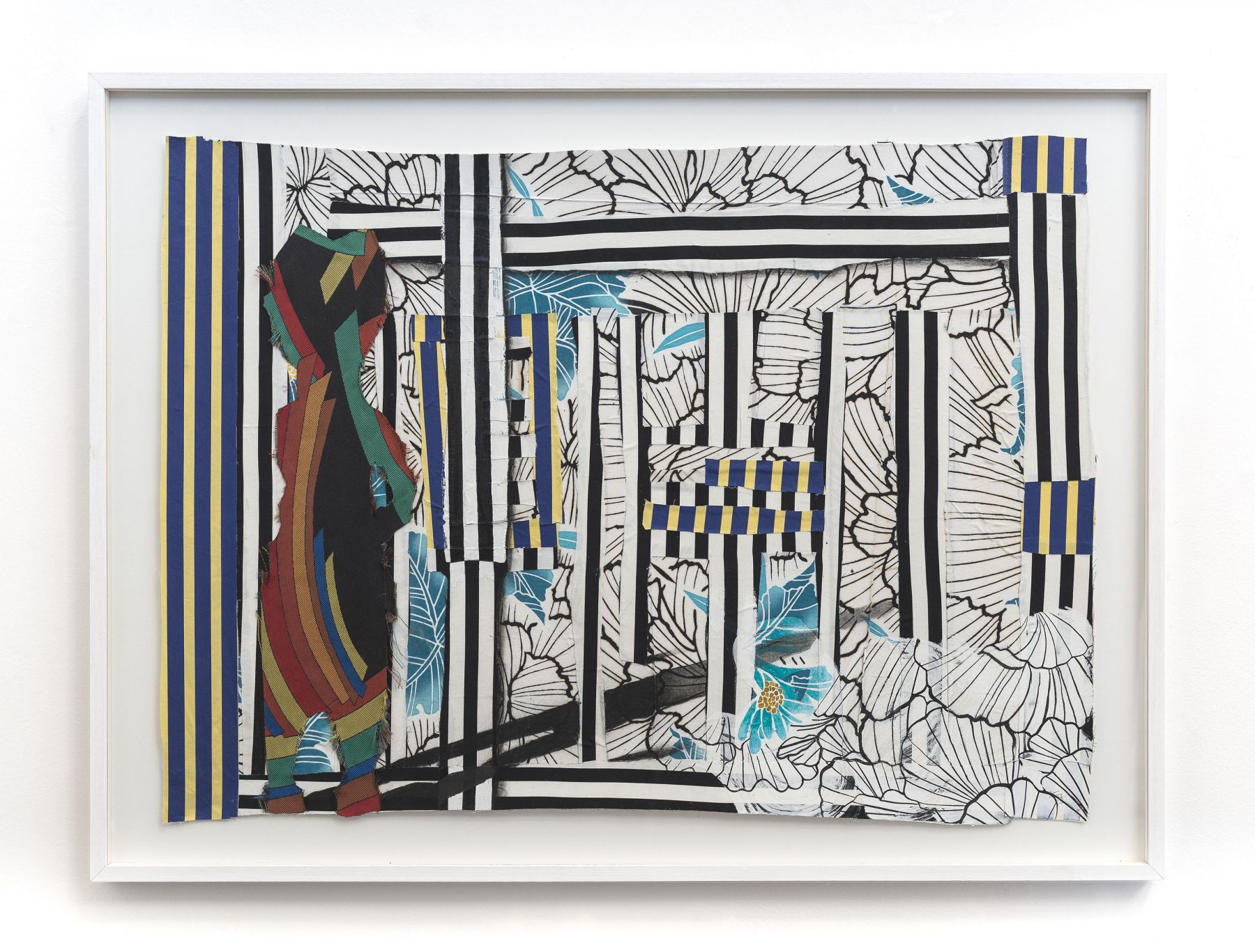 a textile contemporary art by Sanford Biggers available for purchase