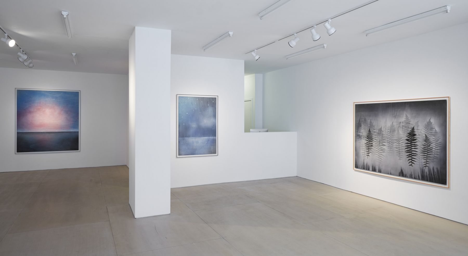 there and after all (Installation View), BOESKY EAST, 2015