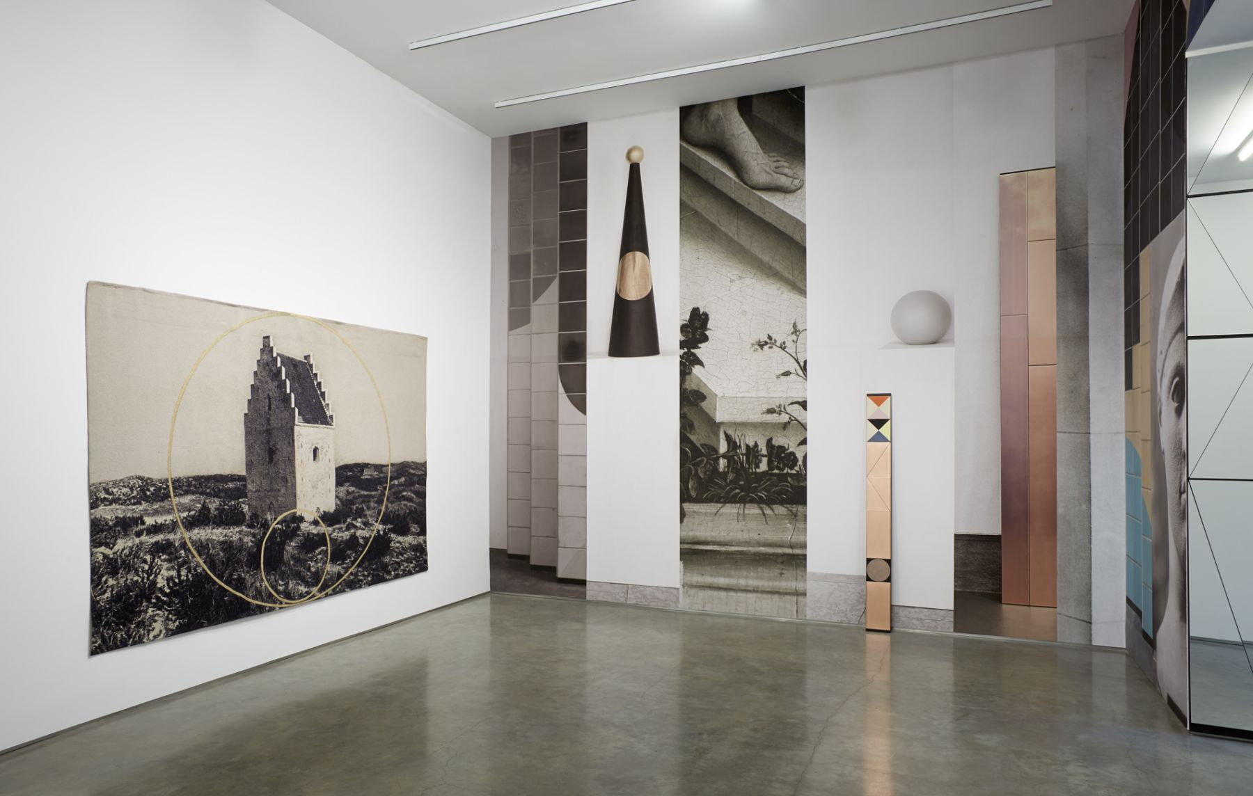 The Mirror (Installation View), Marianne Boesky Gallery, 2013