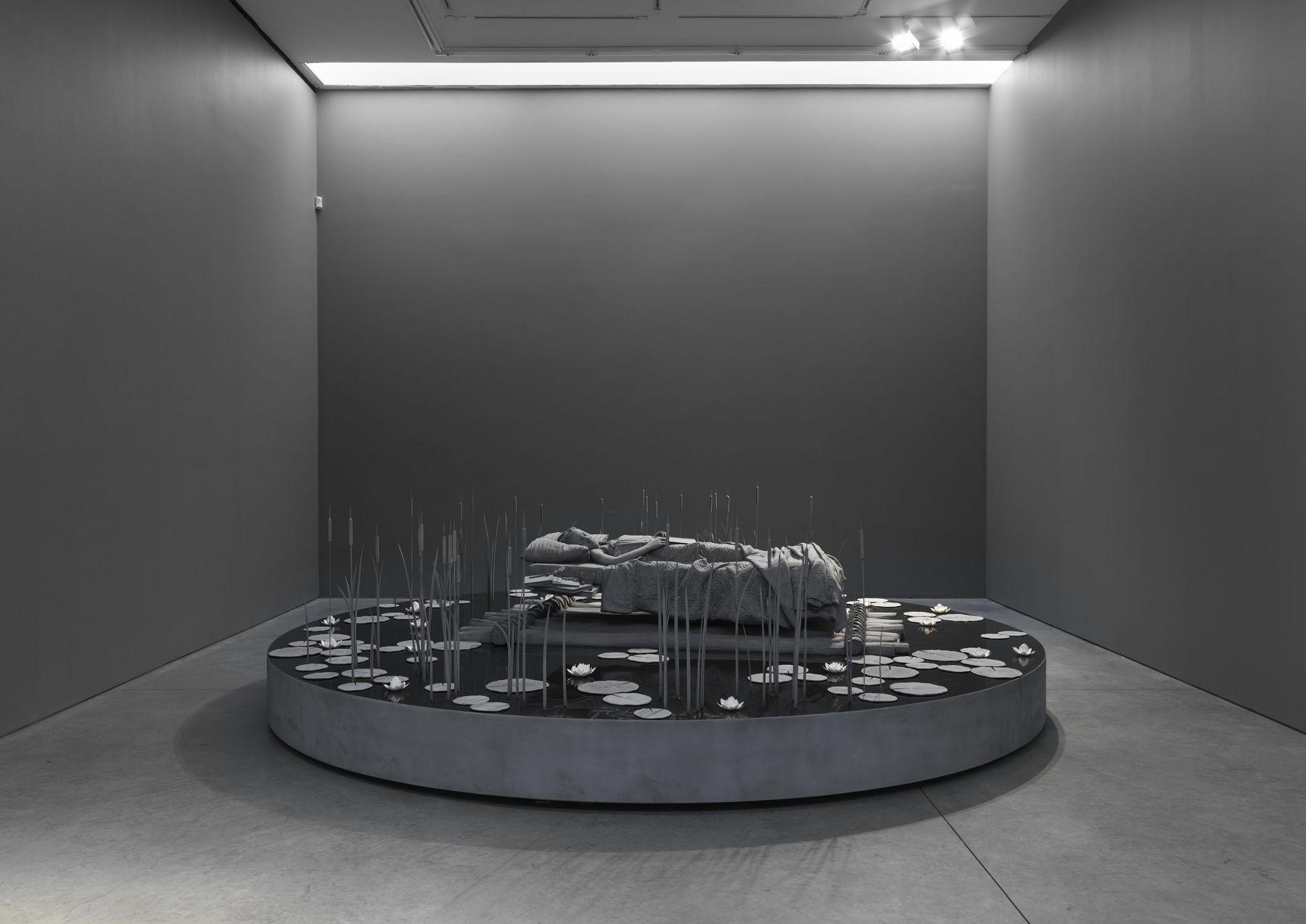 Hans Op de Beeck(Installation View), Boesky East, 2019