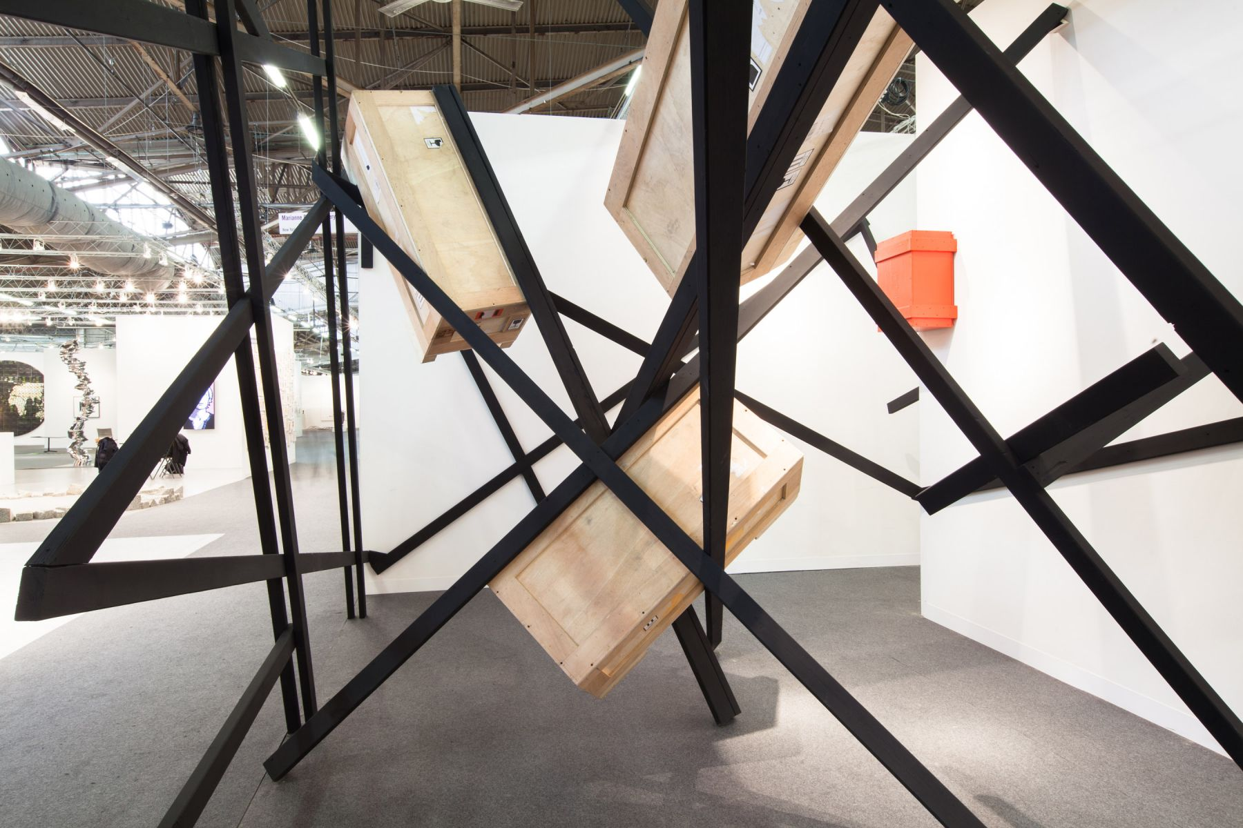 Installation View, The Armory Show 2014,Barricade I, August 7 – September 12, 2014