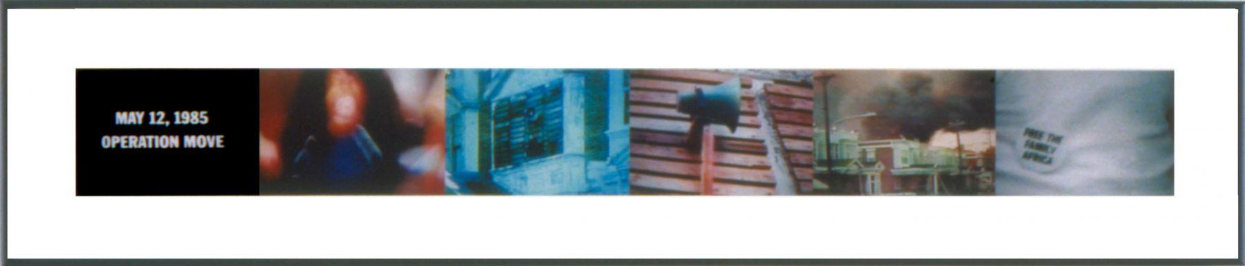 True Crime #5, 2006, 5 C-prints