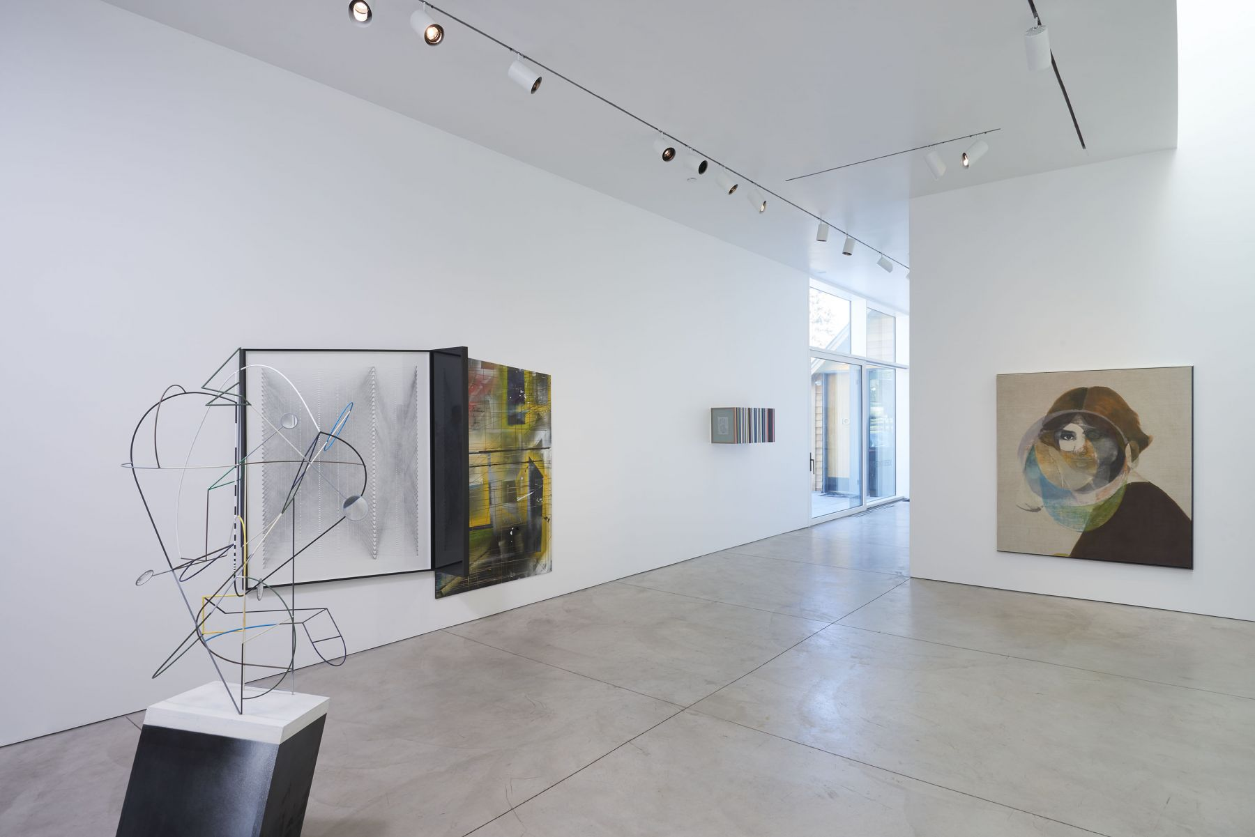 3 (Installation View), Boesky West, 2018–2019