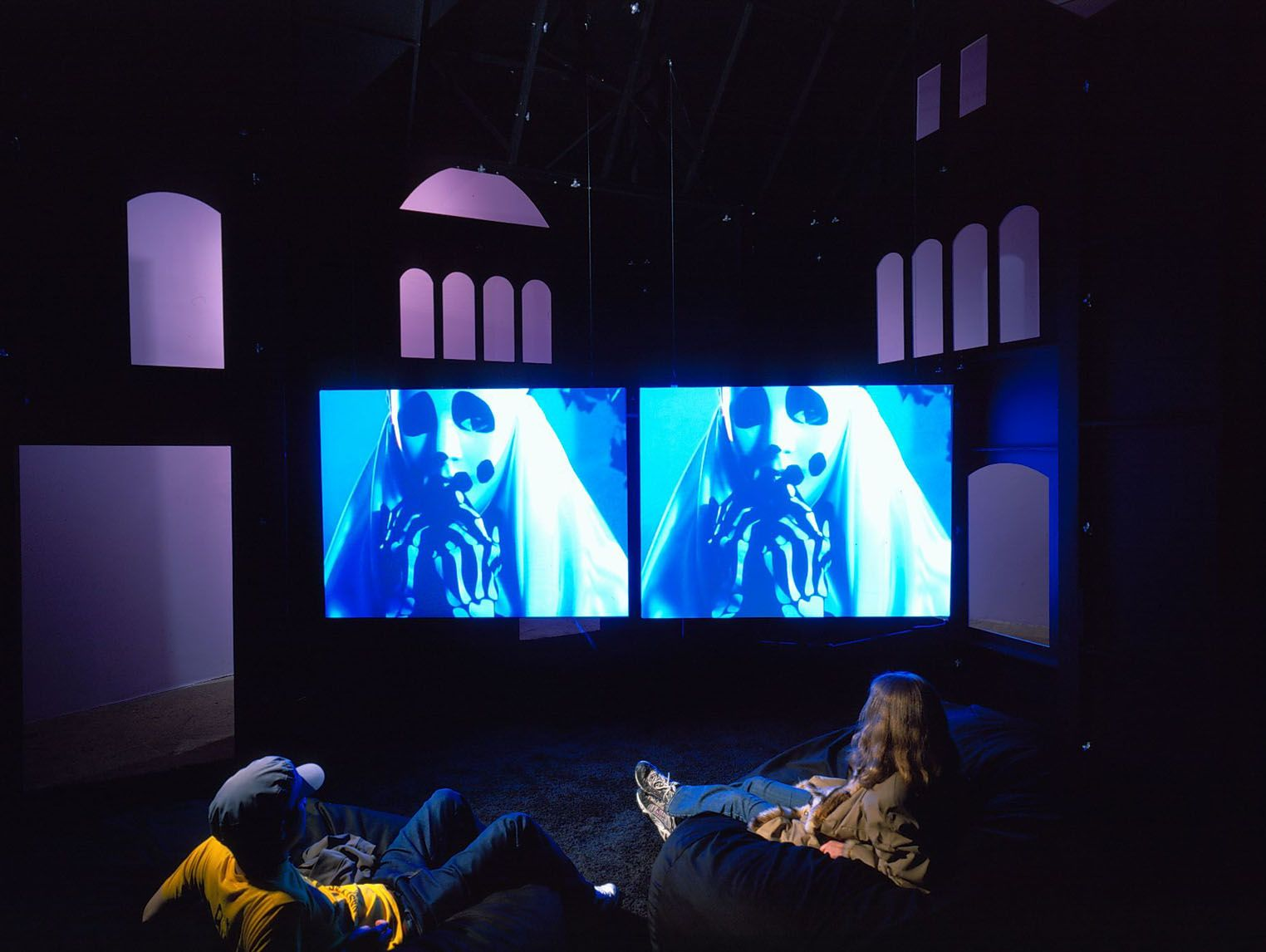 a video installation by sue de beer at the whitney museum of american art