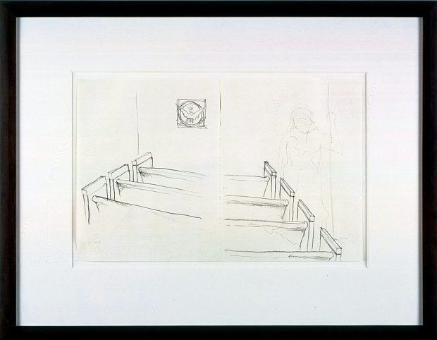 Mr. Gay in the U.S.A. #15, 2001, Graphite on paper
