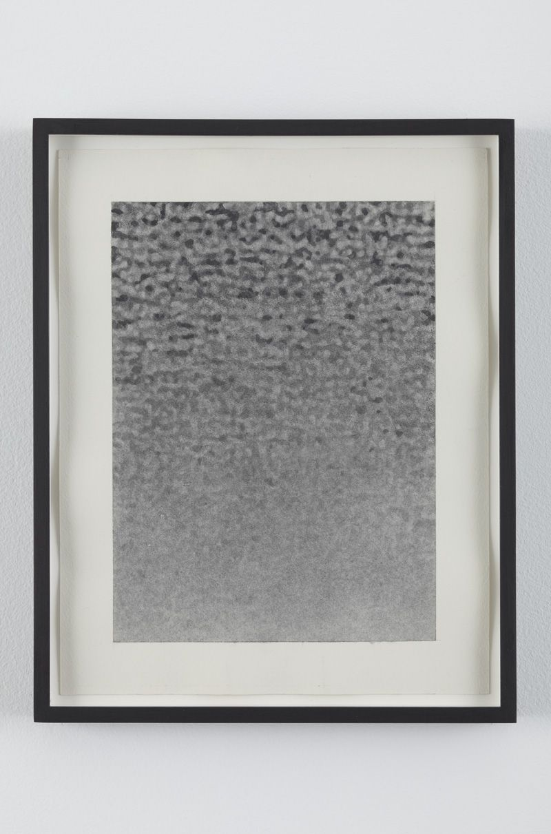 No Signal 2, 2010, Graphite on paper