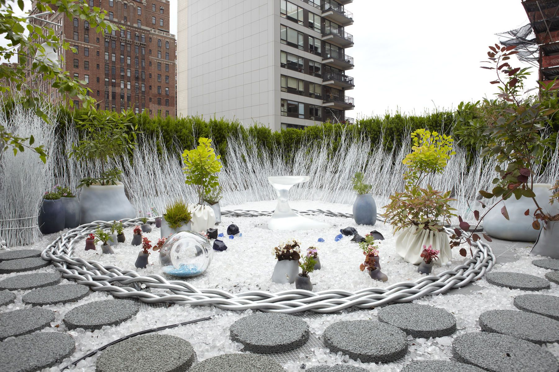 crystal rooftop garden by paula hayes