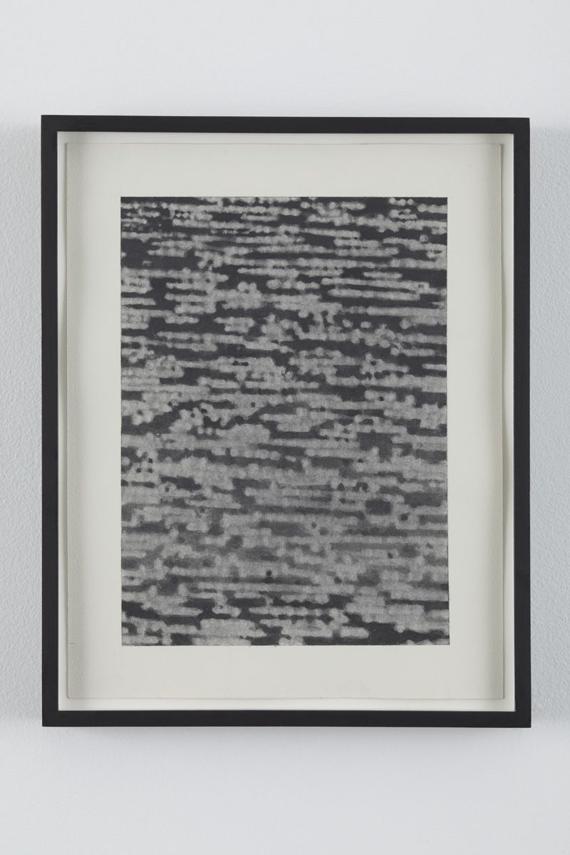 No Signal 5, 2010, Graphite on paper