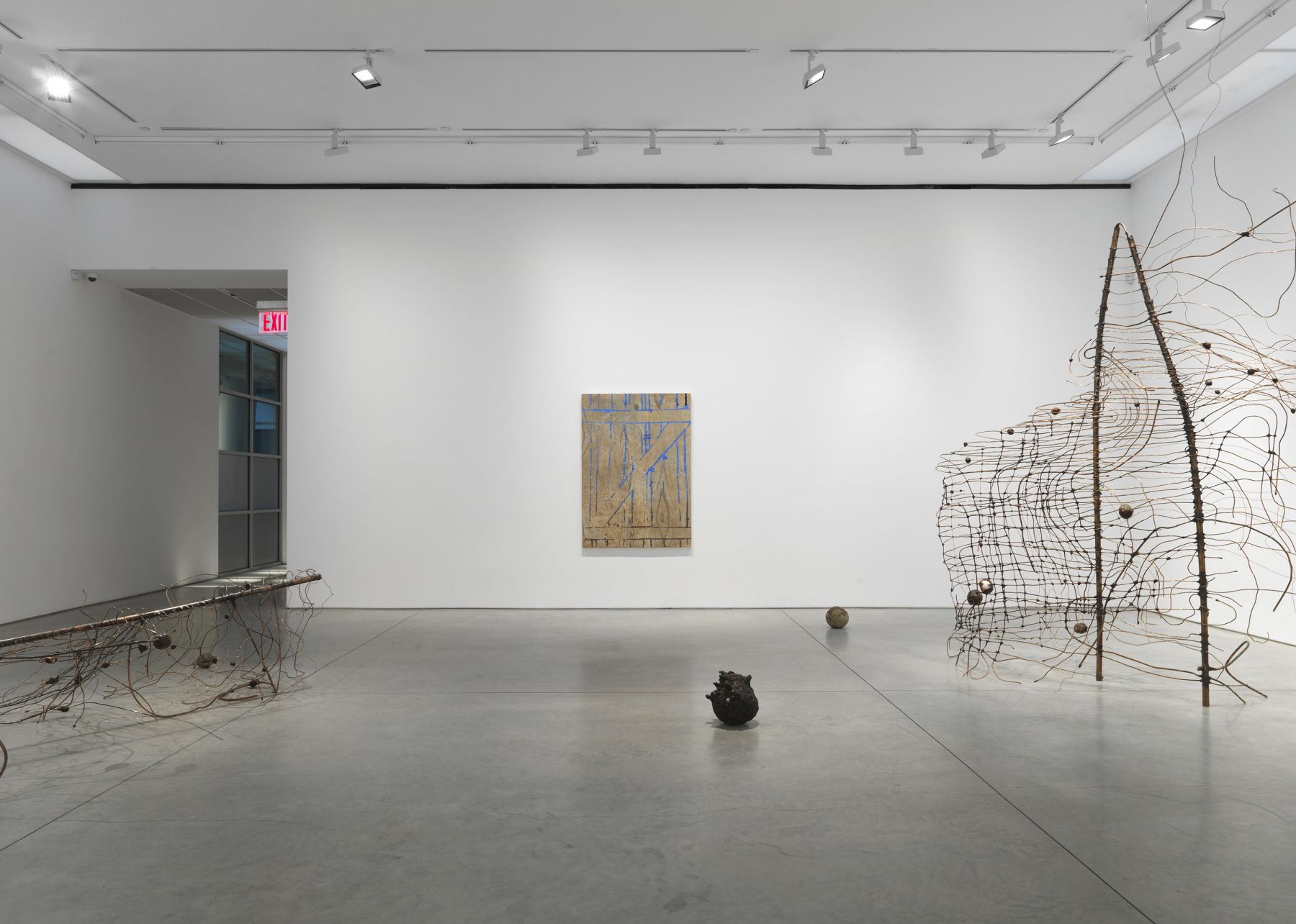 Jay Heikes: Keep Out, (Installation View)