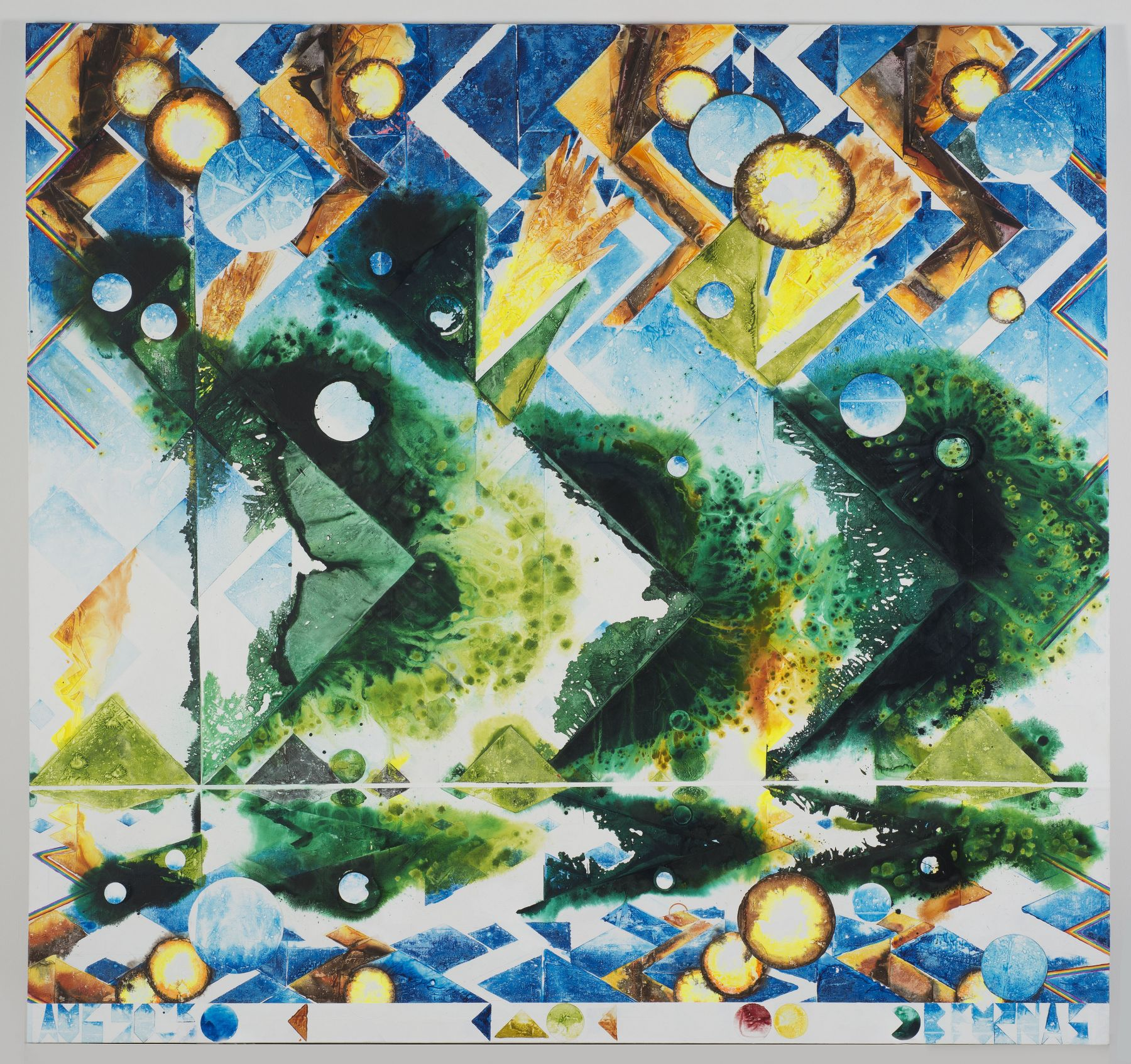 The First Morning (Fire Toads), 2015,