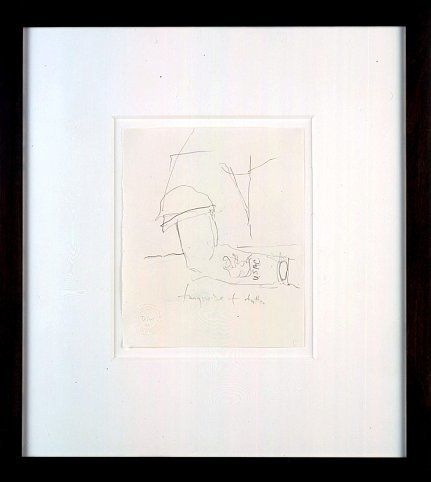 Mr. Gay in the U.S.A. #3, 2001, Graphite on paper
