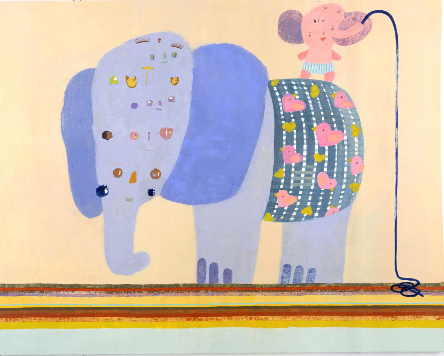Chinatsu Ban, Eyeball Elephants, 2004