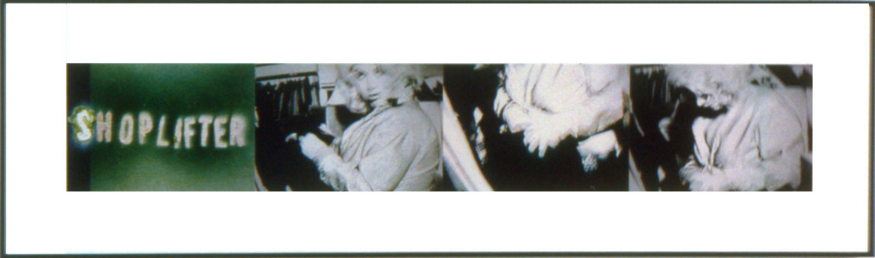 Shoplifter, 2006, 4 C-prints