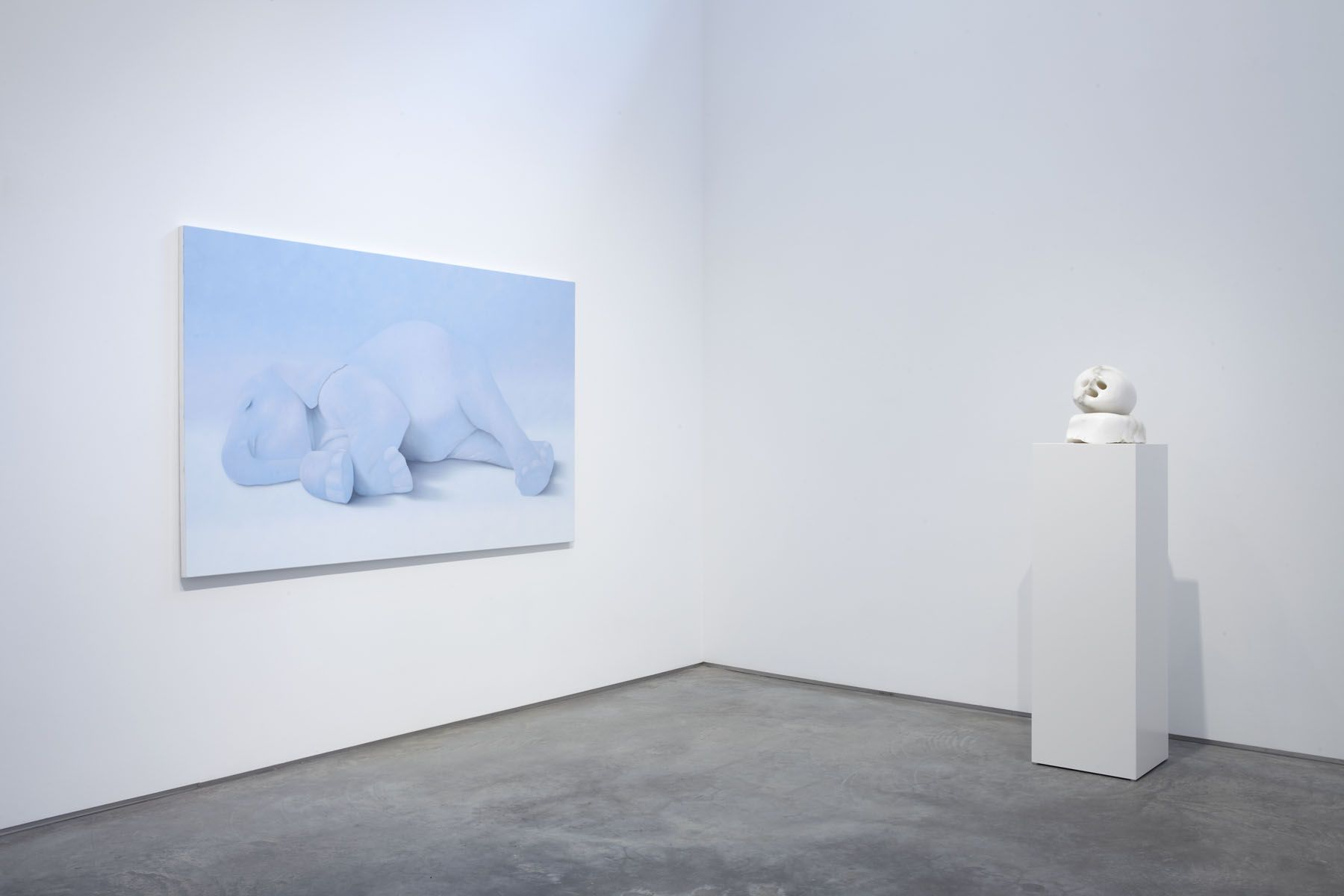 Memory is for the Living (Installation View), Marianne Boesky Gallery, 2010
