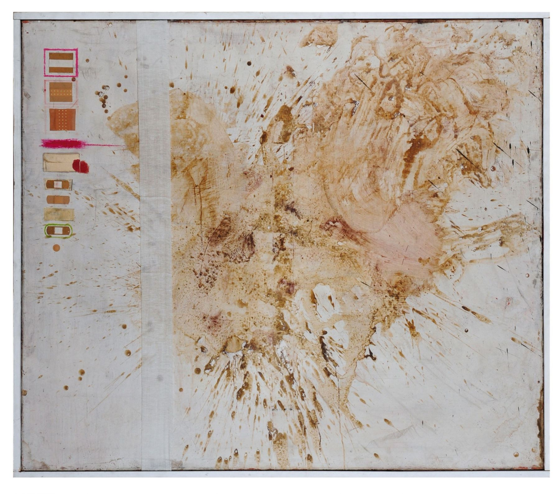 Hermann Nitsch, Untitled (relic montage), 1962, revised in 1963