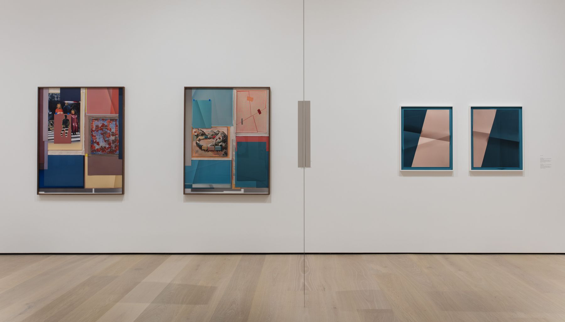 Exhibition of John Houck's prints at the Hammer Museum in Los Angeles