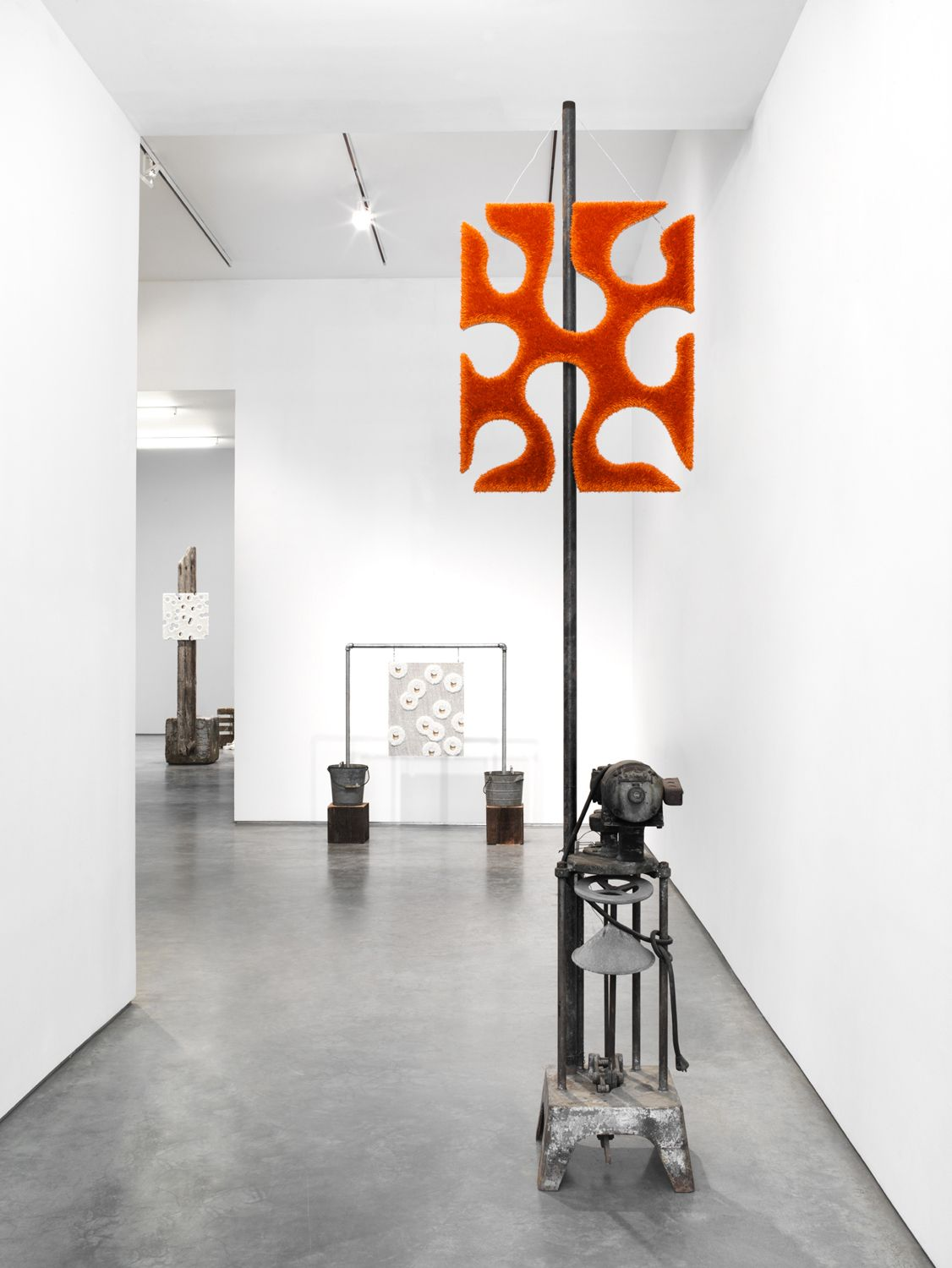 The Radiant Future (Installation View), Marianne Boesky Gallery, 2012
