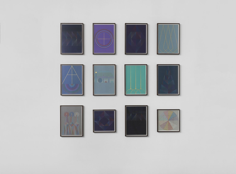 Installation view, Berlin, Galerie Kamm