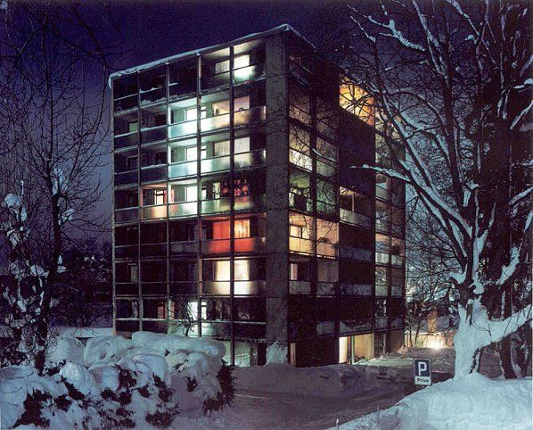 La Chaux du Fonds (Colder #3), 1996-2000, 	C-print mounted on aluminum