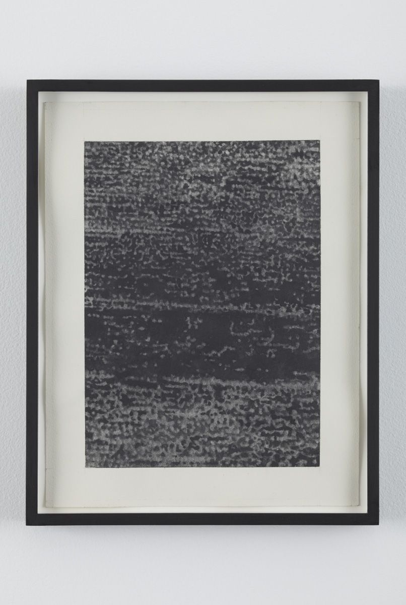 No Signal 3, 2010, Graphite on paper