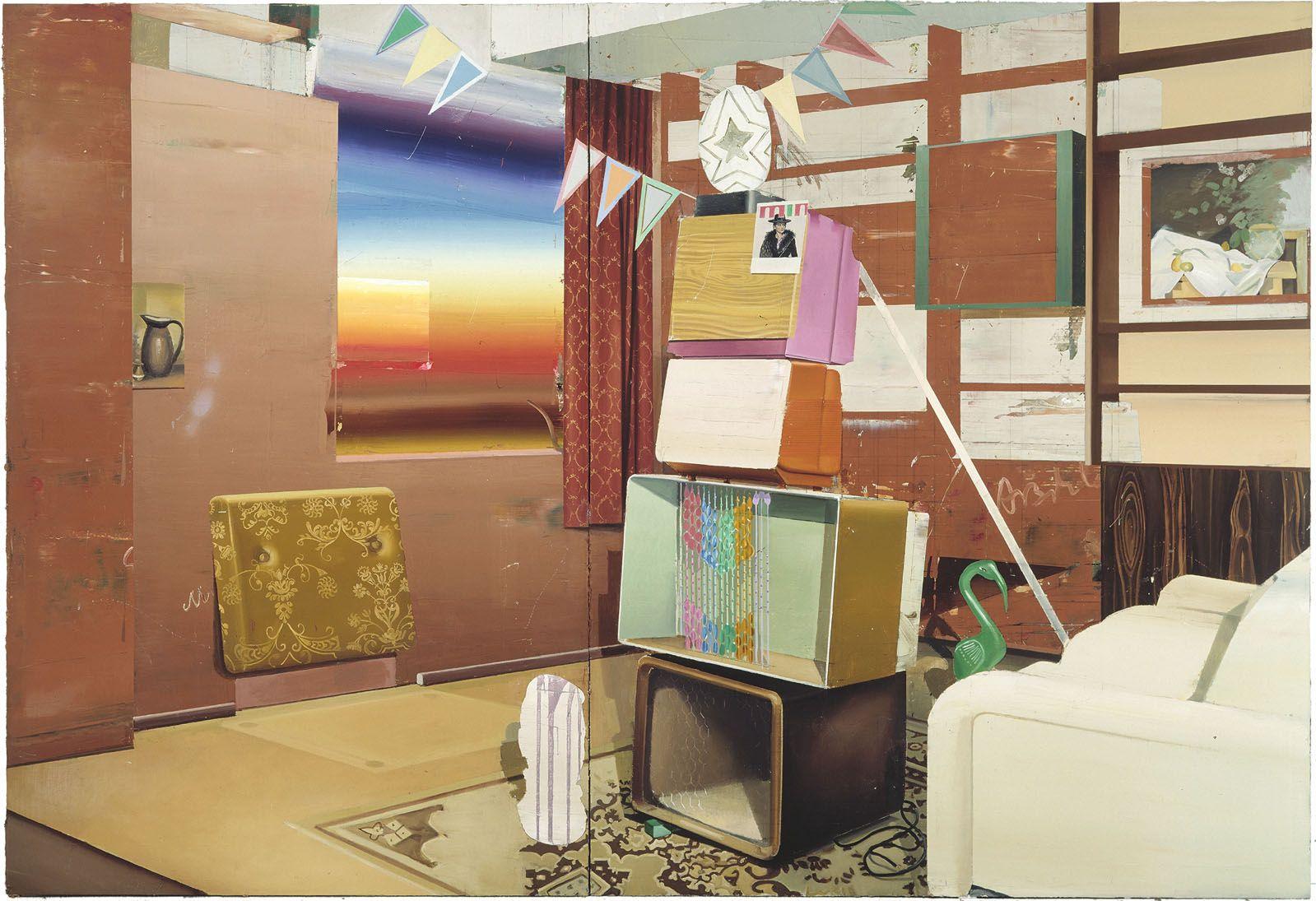 Mattias Weischer, Fernsehturm, 2004