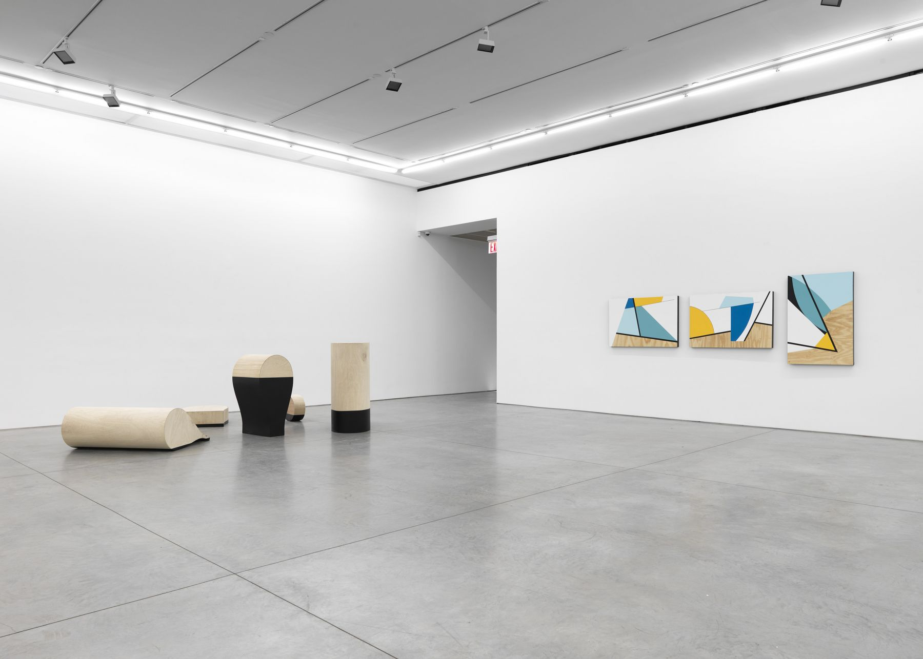 Personal Effects in BLACK(Installation View), Boesky East, 2018