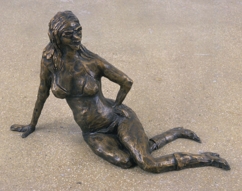 Lounging Lady, 2003, Bronze