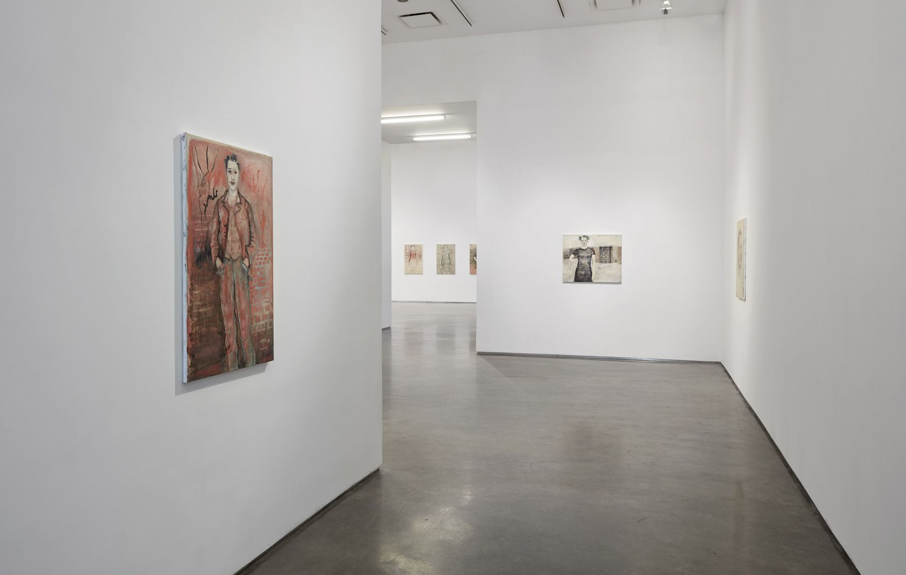 The Smudge Waves Back (Installation View), Boesky Gallery, 2017