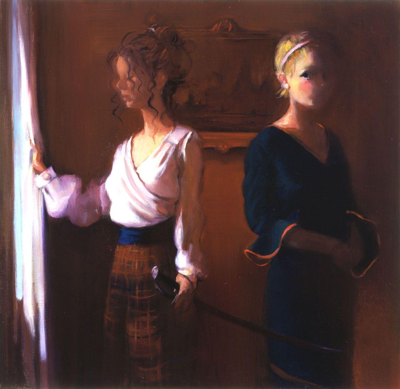 Red Room, 2003, Oil on linen