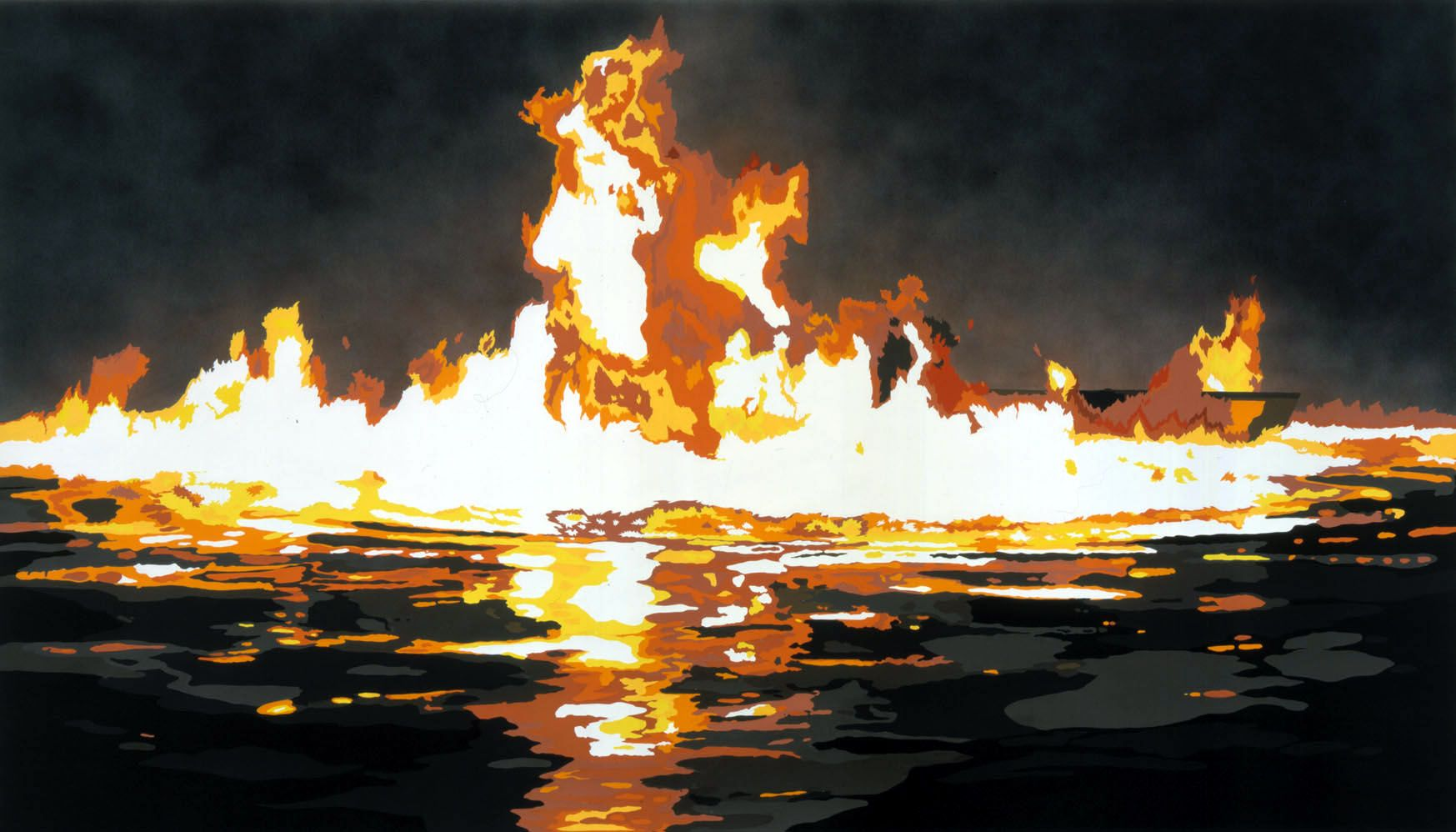 Fire and water by Francesca Gabbiani