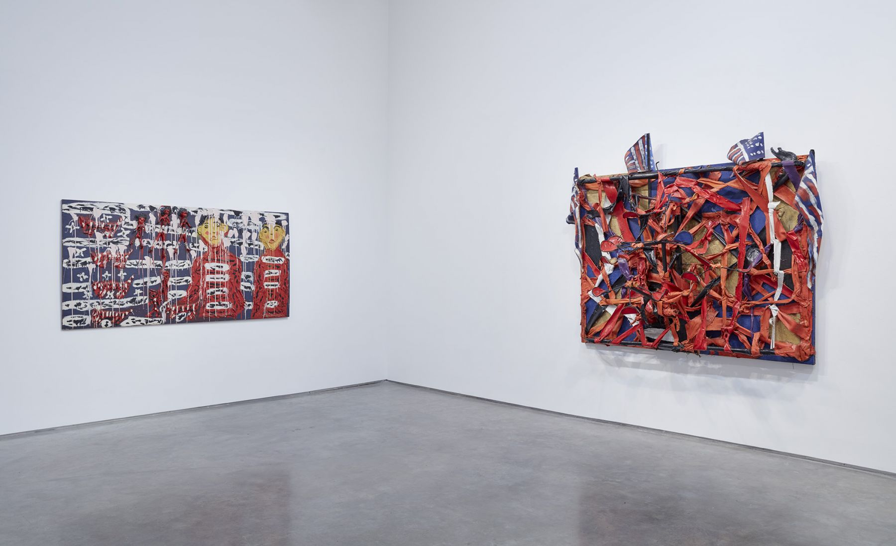 We All Live Under the Same Old Flag(Installation View), Marianne Boesky Gallery, 2016