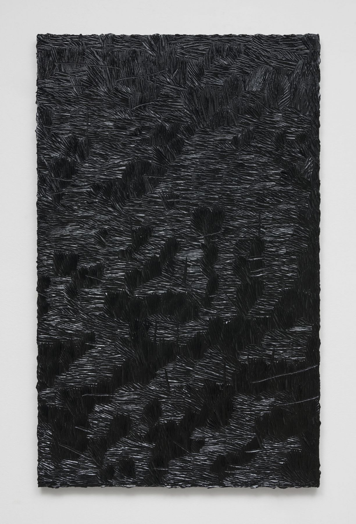 Elegy for whatever (monochrome 5), 2016, Oil on linen