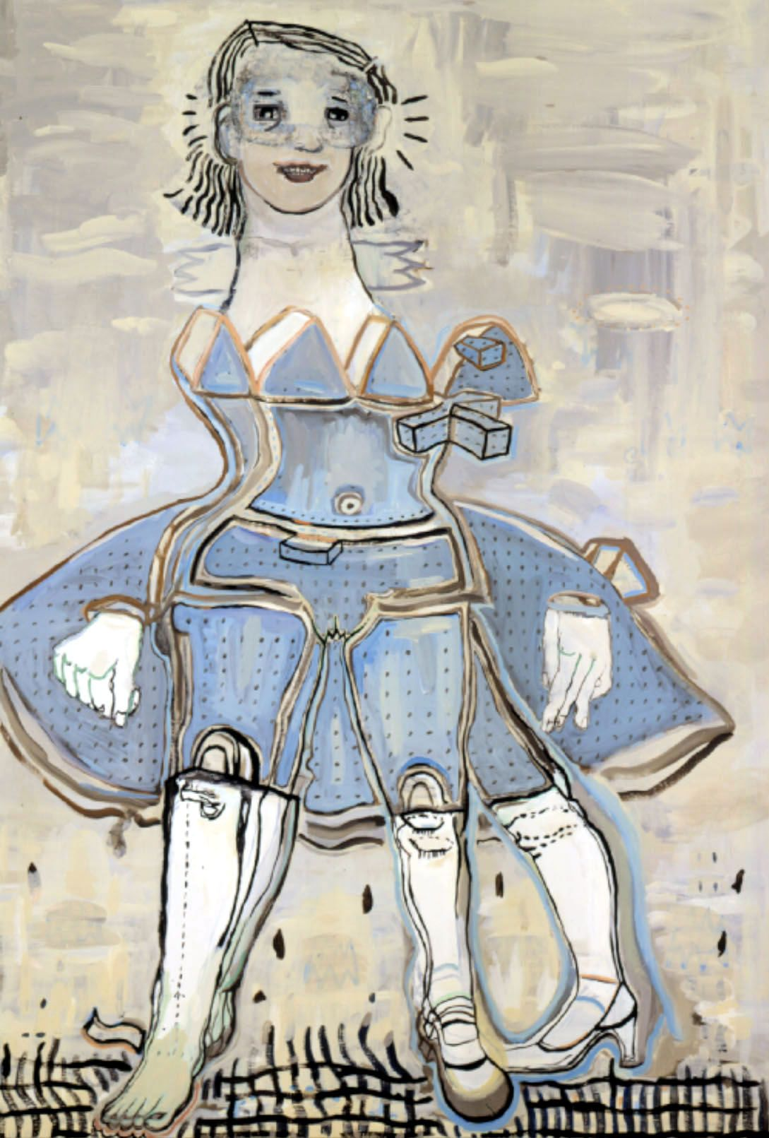 Thin Air, 2004, Acrylic on canvas