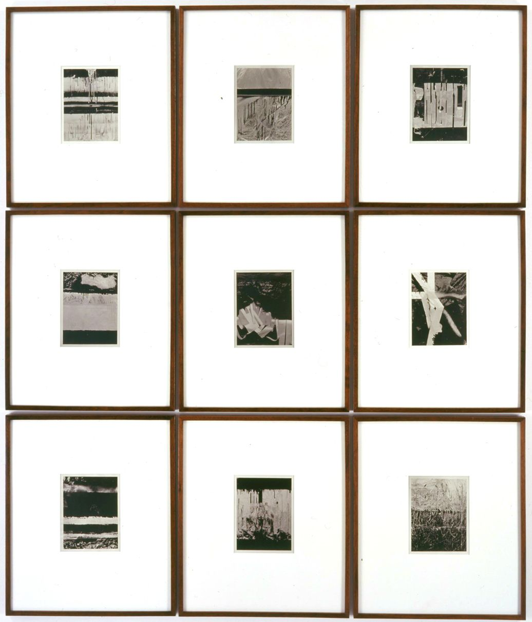 nine photographs by anthony pearson