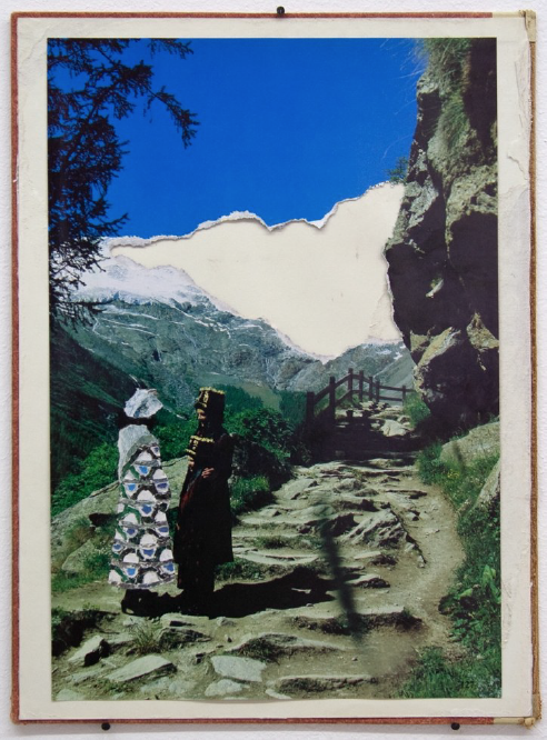 a contemporary collage on a book cover by Bjorn Braun